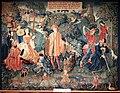 Lione (attr.), arazzo con il tempo, 1512-15 ca.jpg