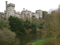 Lismore castle (lismore, co. waterford)