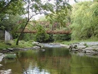 Fredericktown, Columbiana County, Ohio - Little Beaver Creek