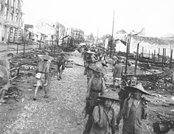 The Chinese return to Liuchow (Liuzhou) in July 1945.