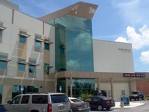 Florida Atlantic University - FAU's Living Room Theaters Complex, located in the Culture and Society Building in Boca Raton