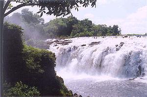 Llovizna Falls - Llovizna Falls, Puerto Ordaz, Venezuela (2004)