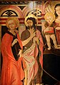 Lo scheggia, madonna col bambino in trono e santi, 1460-70 ca., 02 caterina d'alessandria e g. battista.jpg