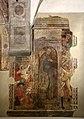 Lo scheggia, martirio di san sebastiano, 1456-57, con l'aggiunta di un santo nel xvi-xvii secolo 01.jpg