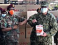 Locally-sourced protective masks donated to South Africa (49829685831).jpg