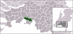 Location of Alphen-Chaam