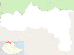 Mek'ele is located in Tigray Region