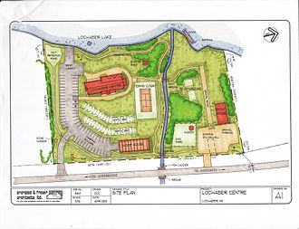 Site plan - Example of a Site plan.