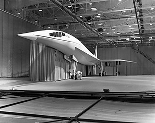 Lockheed L-2000 Proposed US supersonic airliner design