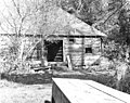 Log building at Ravenna Park, October 26, 1910 (LEE 199).jpeg