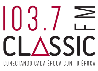 XHHEM-FM - Image: Logo Classic 1037 FM