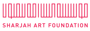 Sharjah Art Foundation - Image: Logo SAF red