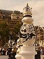 London, black and white queens visit Trafalgar Square - geograph.org.uk - 1500371.jpg