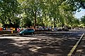 London - Bayswater Road - View SW on Sunday Morning Art Fair along Hyde Park Fence.jpg
