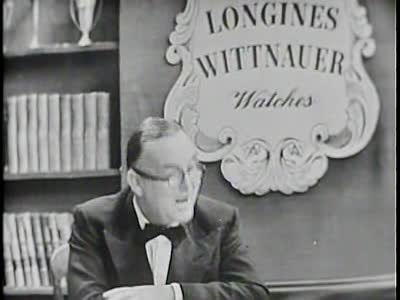File:Longines Chronicles with Lord John Wilmot 1951 ARC-96117.ogv