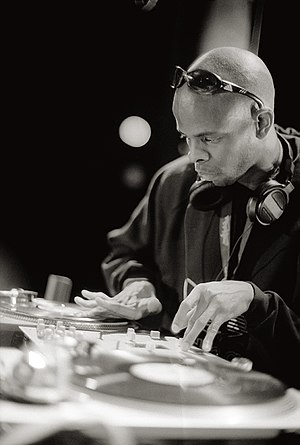 DJ Lord - 2000, Hamburg/Germany with PE
