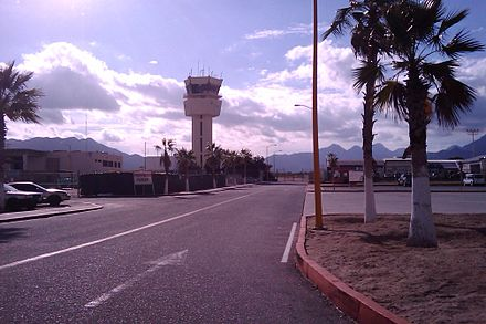Airport's Control Tower. Los Cabos International Airport tower.jpg