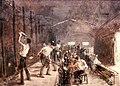Louis Tauzin - Verrerie du bas Meudon. le soufflage du verre (c 1902).jpg