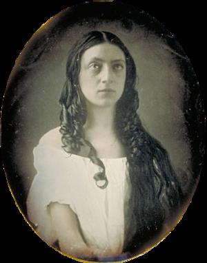 Louisa Lane Drew - Drew as Ophelia circa 1840-48