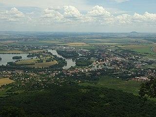 Lovosice Town in Ústí nad Labem, Czech Republic