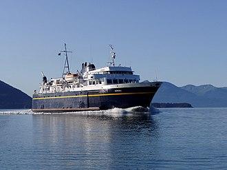 MV Aurora (1977) - Image: Low water AMHS 39