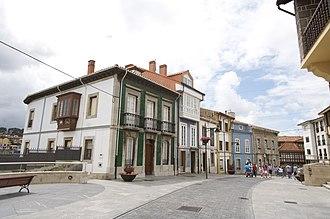 Gozón - Lluanco, the municipal capital.