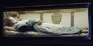 Zita - The body of Saint Zita, found to be incorrupt by the Catholic Church