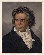 Beethoven in 1819: portrait by Ferdinand Schimon[de] (Source: Wikimedia)
