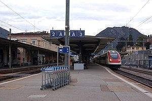 Lugano SBB ICN