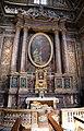 Luigi vanvitelli e giuseppe valadier, altare di sant'anna, con dipinto della famiglia di Maria bambina di giuseppe bottani (1758-59) e stucchi di luigi fontana (xix secolo).jpg