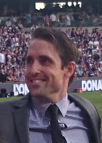 Luke McPharlin - McPharlin in April 2016