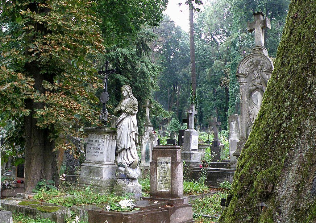 Cementerio Lychakiv.  Lviv