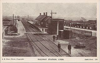 Lydd Town railway station