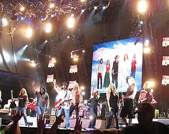 Lynyrd Skynyrd - The band in 2008