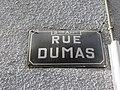 Lyon 9e - Rue Dumas - Plaque (fév 2019).jpg