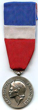 Medaille D Honneur Des Personnels Civils Relevant Du Ministere De La