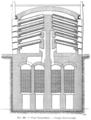 Métallurgie du zinc - Coupe transversale d'un four belge à régénérateur Siemens de Neurenther (p. 488).png