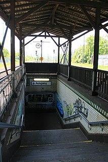 Rheydt-Odenkirchen station railway station in Mönchengladbach, Germany