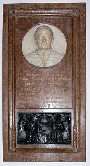 Antonius von Steichele - Image: München Frauenkirche Epitaph Steichele