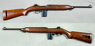 M1 carbine semi-automatic rifle