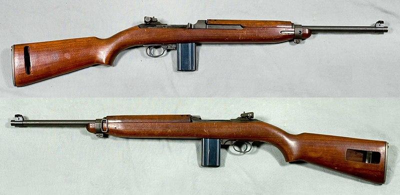 File:M1 Carbine Mk I - USA - Armémuseum.jpg
