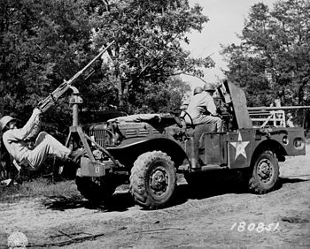 US Second Army Tennessee Maneuvers, June 6, 1943