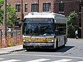 MBTA route 73 bus at Cambridge Common, July 2015.JPG