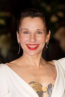 Meret Becker German actress and singer
