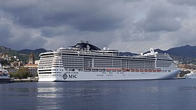 MSC Preziosa in the port of Messina.jpg
