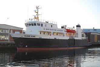Linnaeus University - Kalmar Maritime Academy training ship Calmare Nyckel