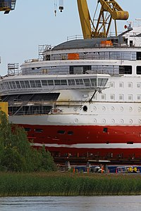 MS Viking Grace, Pernon telakka, Hahdenniemen venesatama, Raisio, 11.8.2012 (20).JPG