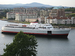 Ahmed Ressam - M/V Coho ferry entering Victoria, B.C., Canada