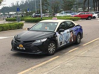 Transport in Macau - Taxi in Macau.