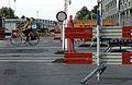 Maastricht 2012 werkzaamheden kruispunt A2 en Scharnerweg.JPG